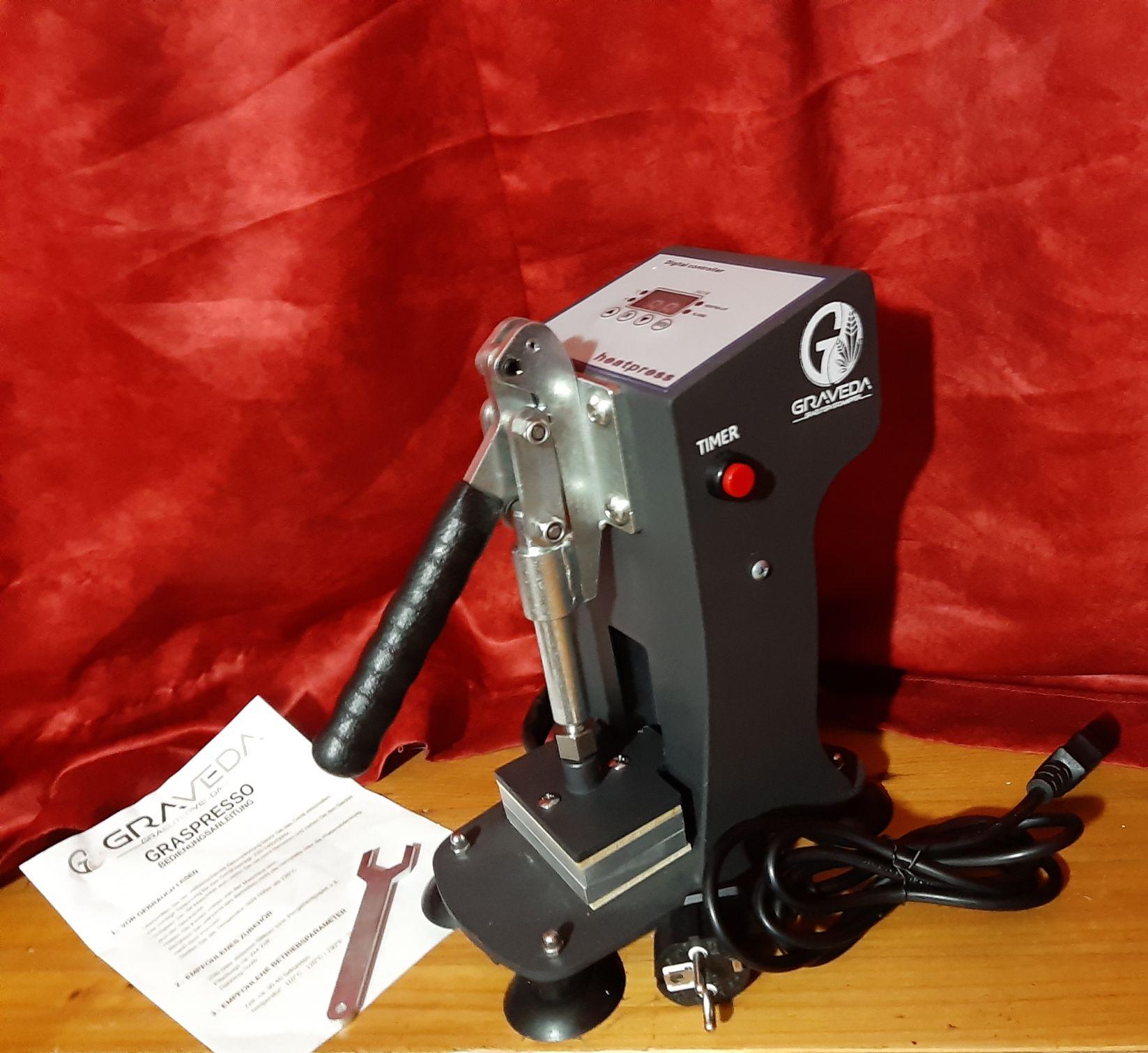 Graveda Graspresso 600kg Presse -Lieferumfang